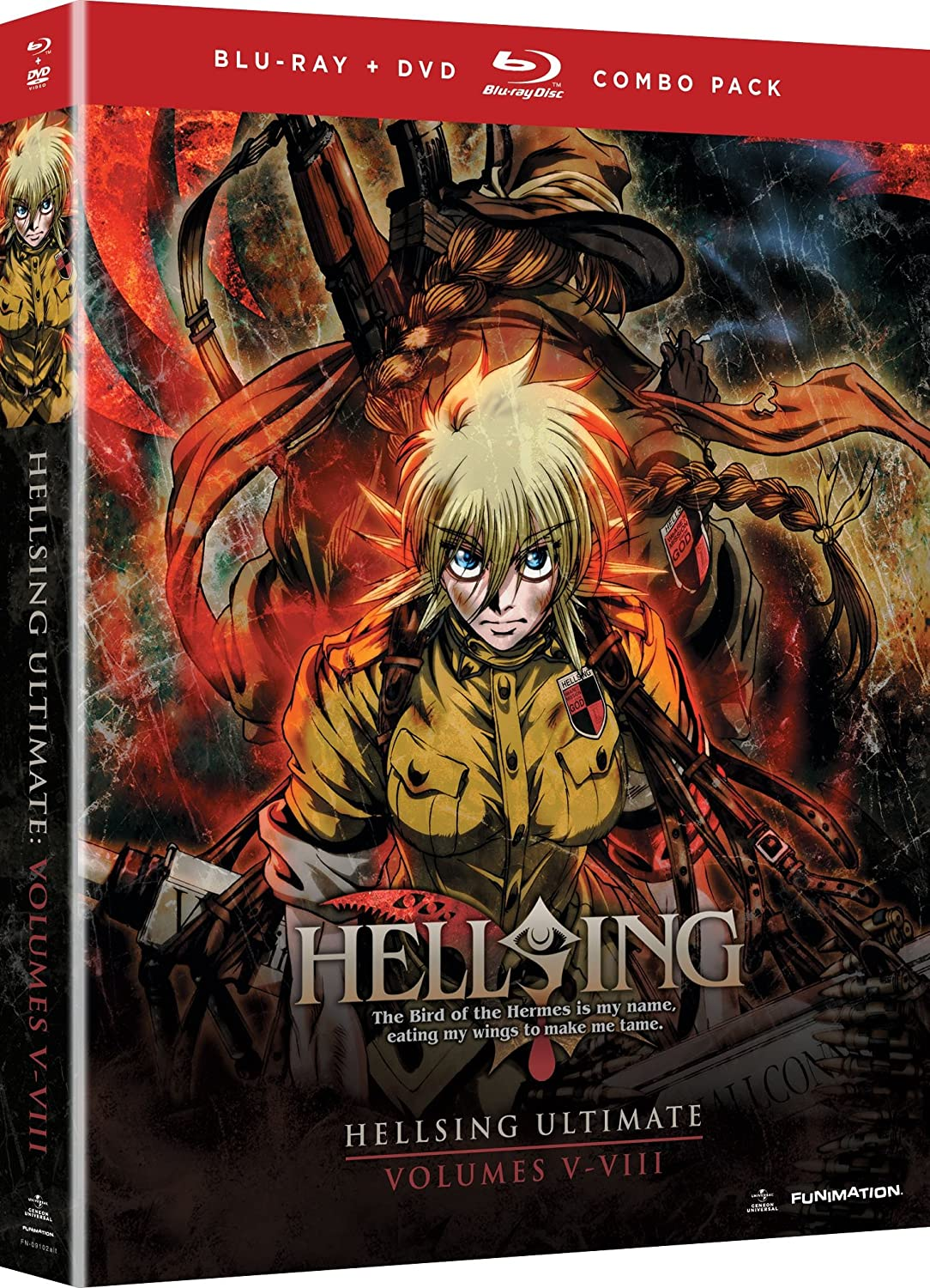 Hellsing Directly managed store Ultimate: Volumes 5 - 8 Collection Max 55% OFF Blu-ray Combo DVD