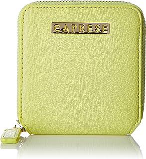 Caprese Women's Wallet (Pastel Yellow)