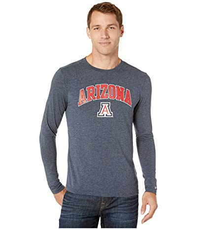 Champion College Arizona Wildcats Field Day Long Sleeve Tee (Navy) Men