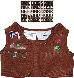 Build A Bear Workshop Girl Scout Brownie Uniform Vest
