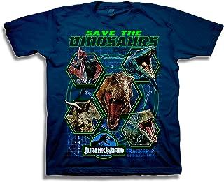 Boys 2 Save The Dinosaurs Short Sleeve T-Shirt