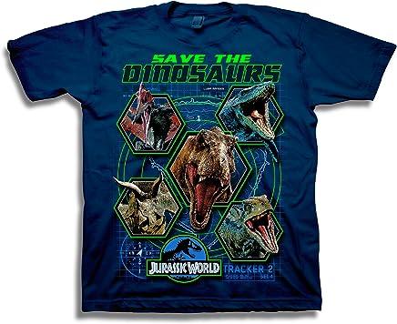 Official Merchandise Jurassic World Lava Logo Boys T-Shirt