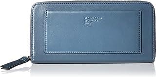 [マーガレット・ハウエル アイデア] 長財布 【ピルモント】牛革 ロゴ入りカードポケット MHLW0AT2(専用BOX入り)
