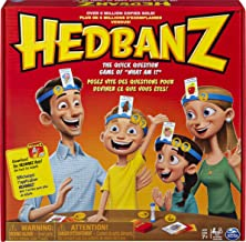 Hedbanz Picture Guessing Board Game, for Families and Kids Ages 8 and up