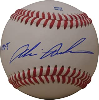 San Diego Padres Akinori Otsuka Autographed Hand Signed Baseball with Japan WBC Inscription, English and Japanese Sigs, Proof Photo, Texas Rangers, Chunichi Dragons, Osaka Kintetsu Buffaloes, COA