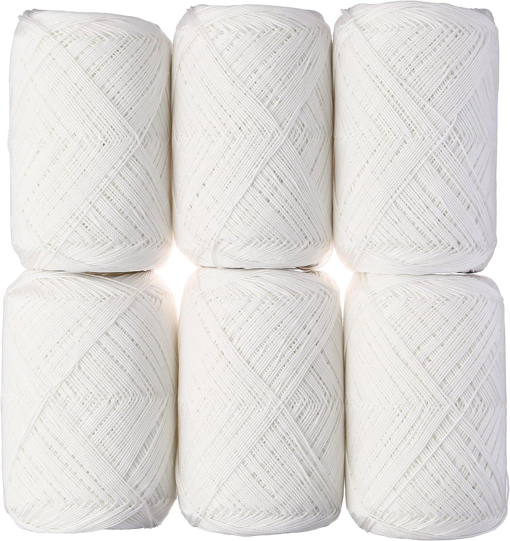 Envío rápido y el mejor servicio Dharma Kamogawa thread   18 100g 350m 350m 350m col.1 blancoo 6 Ball set  los clientes primero