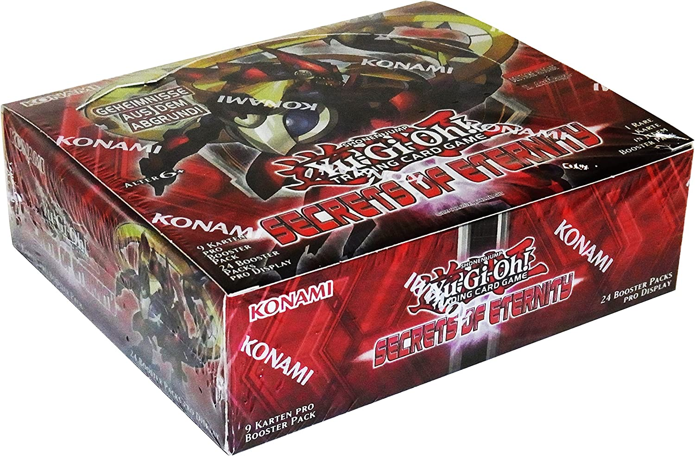 Yu-Gi-Oh  Secrets of Eternity Booster deutsch, 24er Pack (24 x Booster Pack) B00SHJ94UI Stabile Qualität   Stil