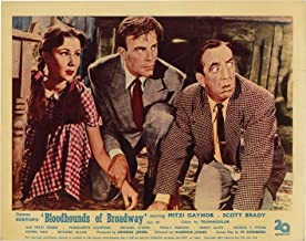 Bloodhounds of Broadway (Collection of 4 UK front-of-house card from the 1952 film)