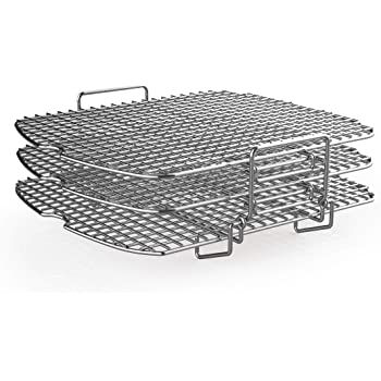 AG400 Dehydrator Rack Stainless Steel Stand Accessories Compatible with Ninja Foodi Grill AG300