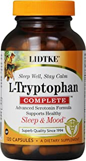 Lidtke Technologies L-Tryptophan Complete Capsules, 120 Count