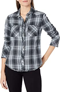 William Rast Women's Mercer Slim Fit Shirt