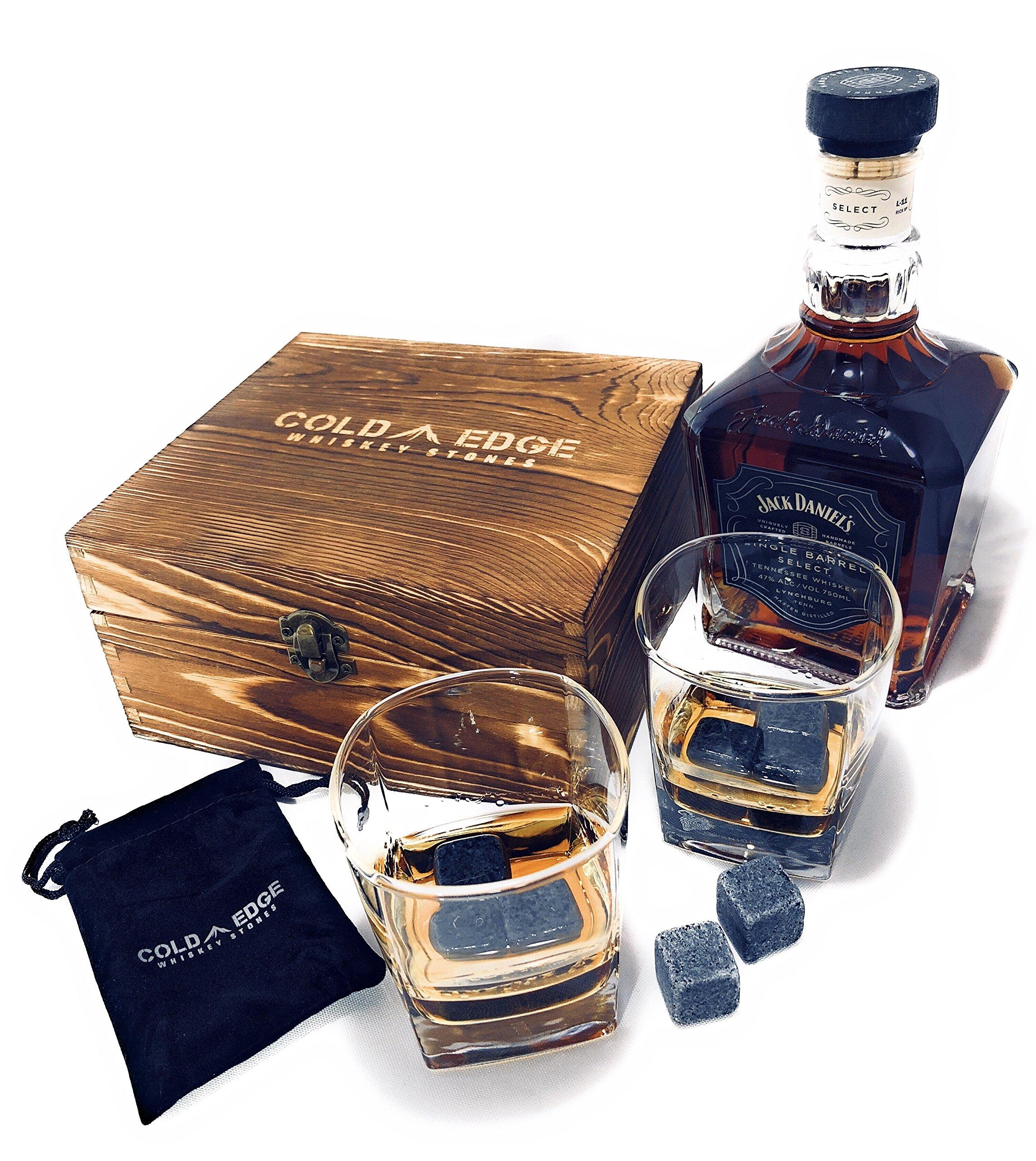Whiskey Stones and Drinking Glasses Gift Set - 8 Granite Chilling Stones 2 Premium 9  sc 1 st  Amazon.com & Graduation Gift for Him: Amazon.com
