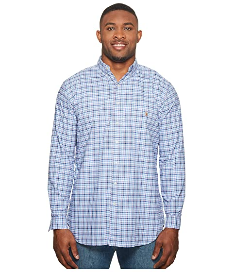 amp; Ralph Big Shirt Oxford Tall Lauren Long Sport Polo Sleeve p7tw7