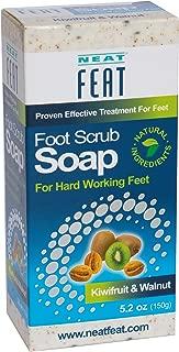 Neat Feat Kiwifruit and Walnut Foot Scrub Soap, 5.2 Fl. oz.