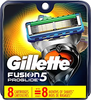 Gillette Fusion ProGlide Power Men's Razor Blade Refills, 8 Count