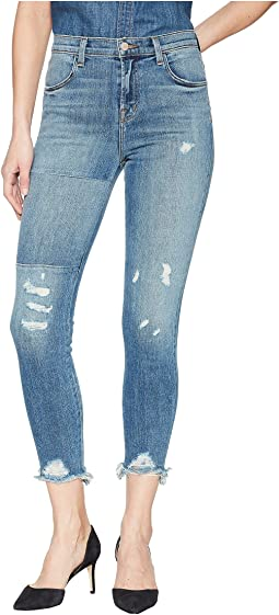 Alana High-Rise Crop Skinny in Ardent