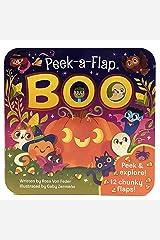 Boo Halloween Lift-a-Flap Board Book Ages 0-4 (Peek a Flap) Board book