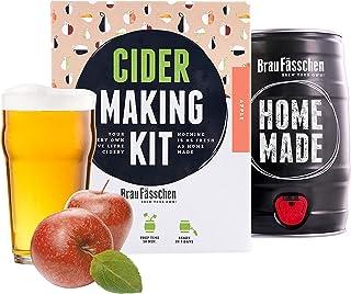 Cadeau Femme Kit de Fabrication de Cidre de Pomme - Faites du Cidre à la Maison - Prêt en 7 Jours - Parfait pour Les début...