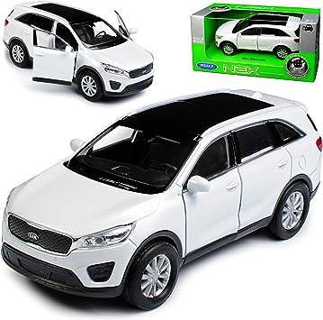 Welly Kia Sorento Um Weiss 3 Generation Ab 2014 Ca 1 43 1 36 1 46 Modell Auto Mit Individiuellem Wunschkennzeichen Spielzeug