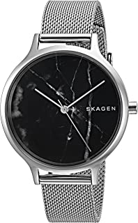 Skagen SKW2673 Reloj para Mujer, color Negro/Plata