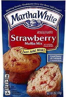 Martha White Strawberry Muffin Mix, 7 oz