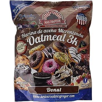 Max Protein Oatmeal Sac Harina Avena - 3000 gr: Amazon.es: Salud y cuidado personal