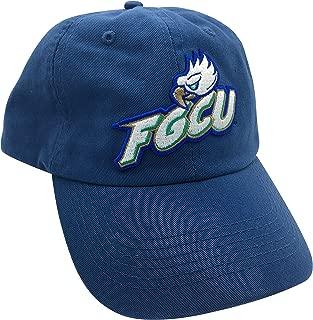 Tailgate Heritage FGCU Florida Gulf Coast University Eagles Blue Hat Cap with Leather Strap