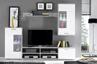 Amazon.it: mobili soggiorno moderni - Pareti attrezzate ...