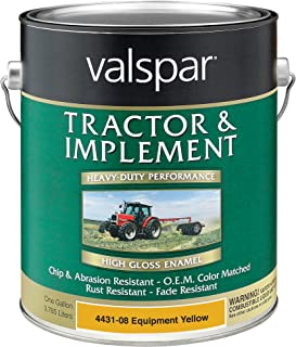 valspar equipment paint