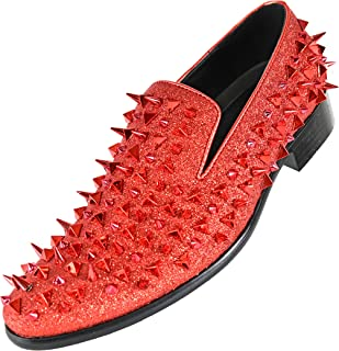 Best red loafers spikes Reviews
