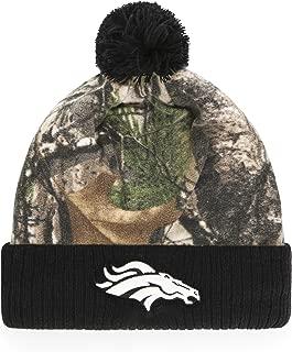 NFL Men's OTS Greyson Cuff Knit Cap with Pom