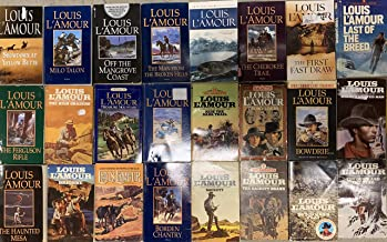 Louis L'Amour western Novel Collection 24 Book Set