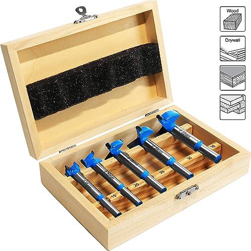 porta foro Boring template//punte Forstner guide perforatrice foro localizzatore per Kreg Tool Carpenter lavorazione del legno di bricolage 35/mm Forstner bit 35/mm cerniera drilling Jig