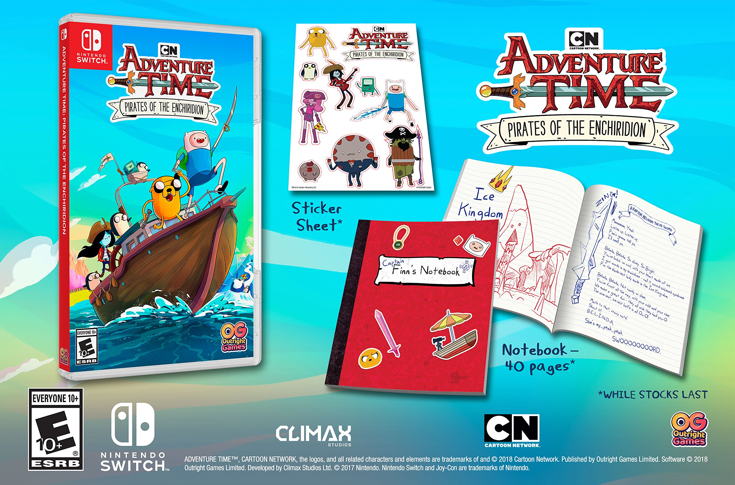 Adventure Time: Pirates of the Enchiridion for Nintendo Switch ...