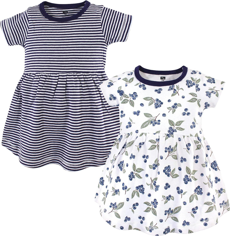 Hudson Baby Baby Girls' Cotton Dresses: Clothing