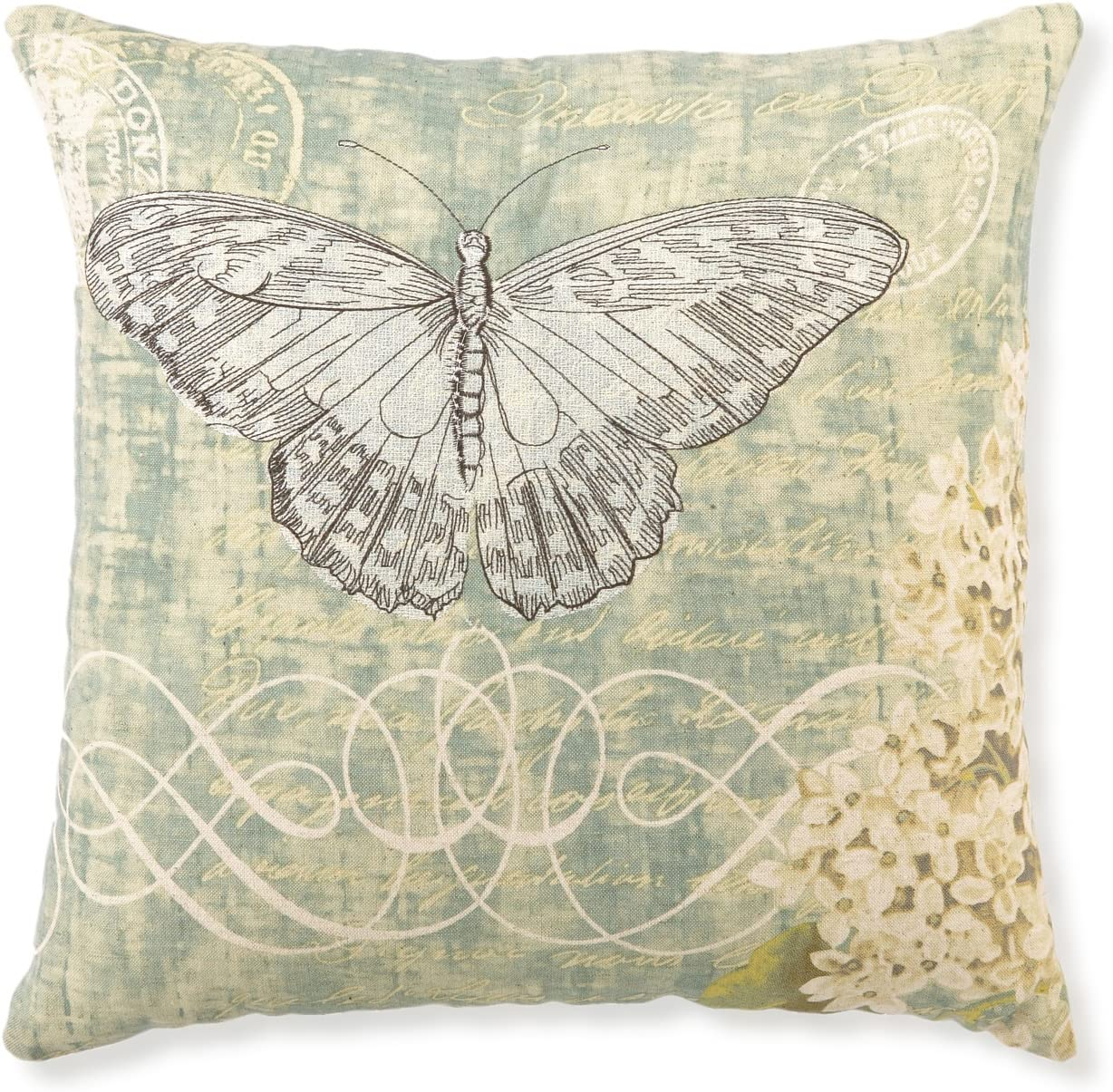 Kathryn White Deluxe Antique Butterfly Max 70% OFF Lilac Pillow x 16