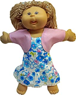 Doll Clothes Superstore Sundress and Jacket for Cabbage Patch Kid Dolls