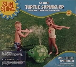 Sunshine Turtle Sprinkler