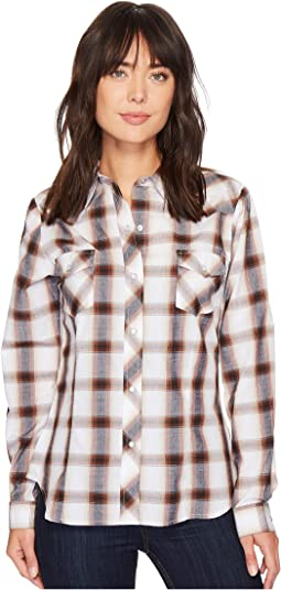 Roper - 1217 Brown, Black and White Plaid