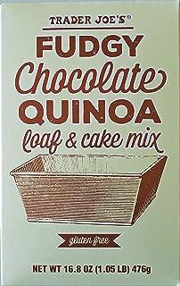 Trader Joe's Fudgy Chocolate Quinoa Loaf & Cake Mix