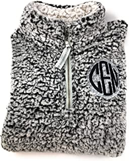 sherpa with monogram