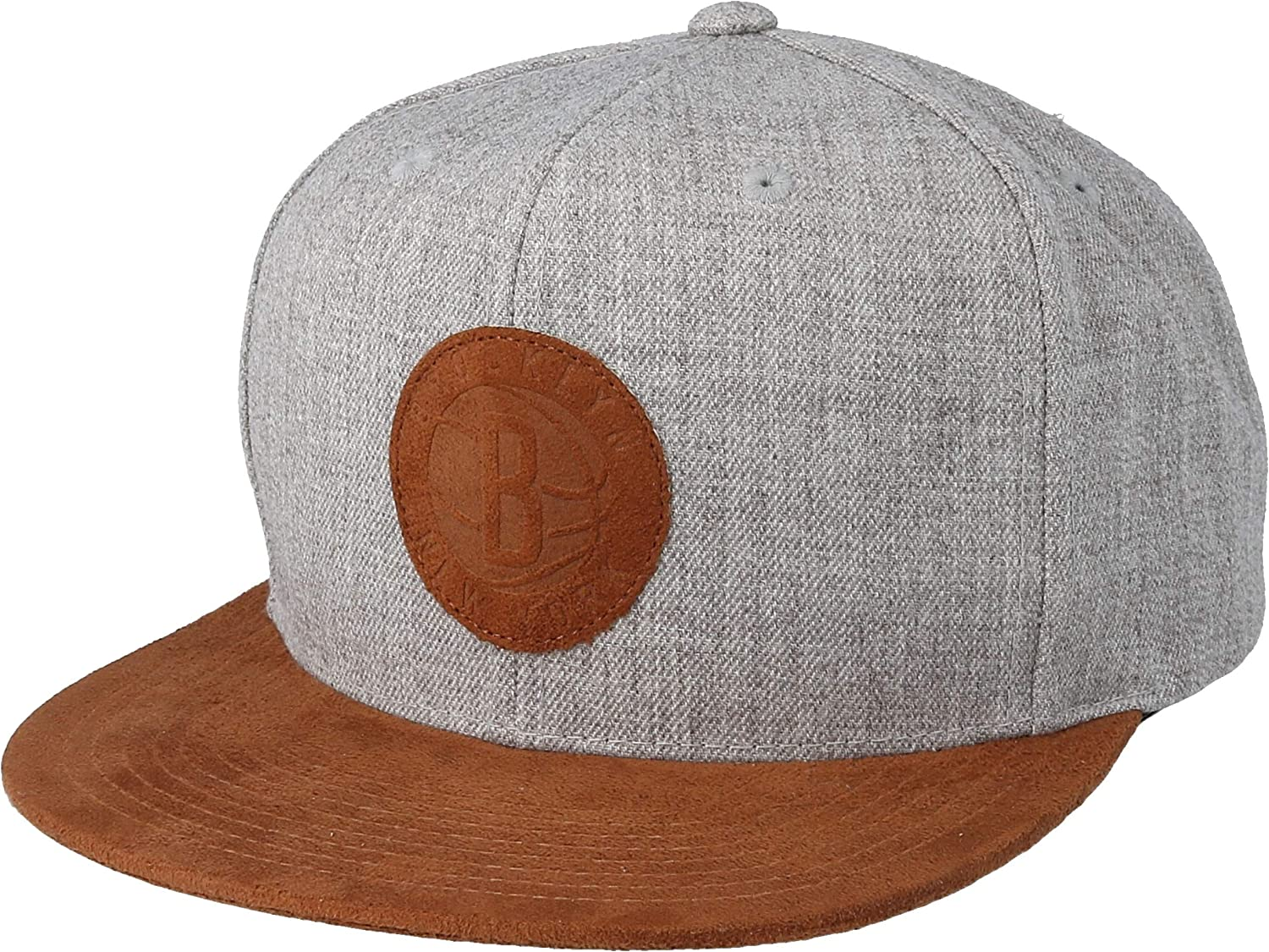 Mitchell /& Ness Suede Patch Adjustable Snapback Cap