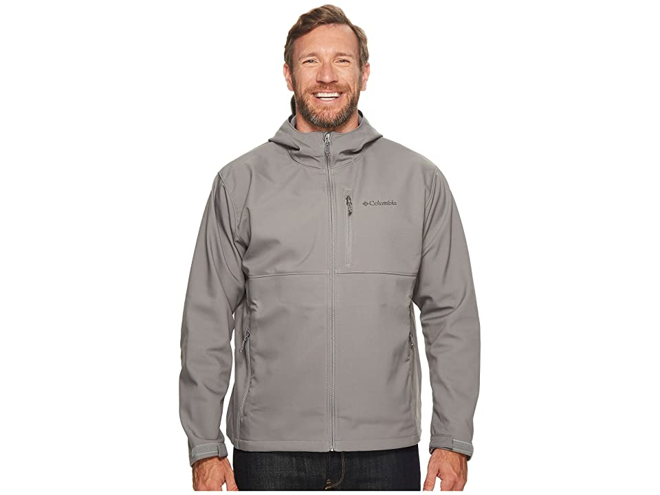Columbia Big Tall Ascendertm Hooded Softshell Jacket (Boulder) Men