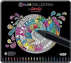 bic conte colouring pencils