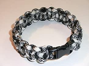 RedVex Paracord Bracelet - Cobra Style - Choose Your Color and Size