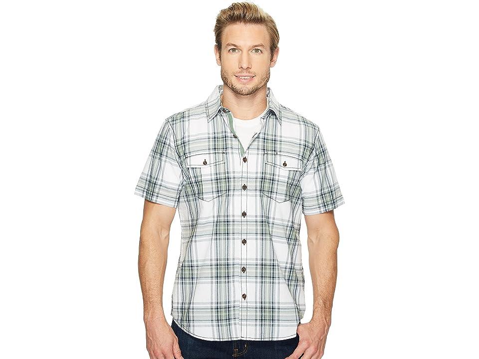 Ecoths Caldwell Short Sleeve Shirt (Phantom) Men