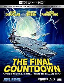 THE FINAL COUNTDOWN arrives in 4K Limited Collector's Edition April 27 from Blue Underground and MVD