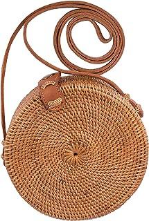 Handmade Rattan Round Bag
