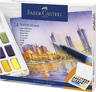 ファーバーカステル ウォーターカラーパレット 24色 水筆付 169724 【国内正規品】