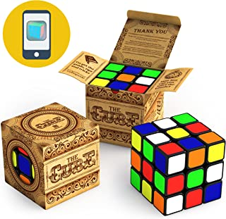 Buttery Smooth Turning Speed 3x3 Cube Turns Quicker and More Precise Than Original Super Durable with Vivid Colors Easy Tu...